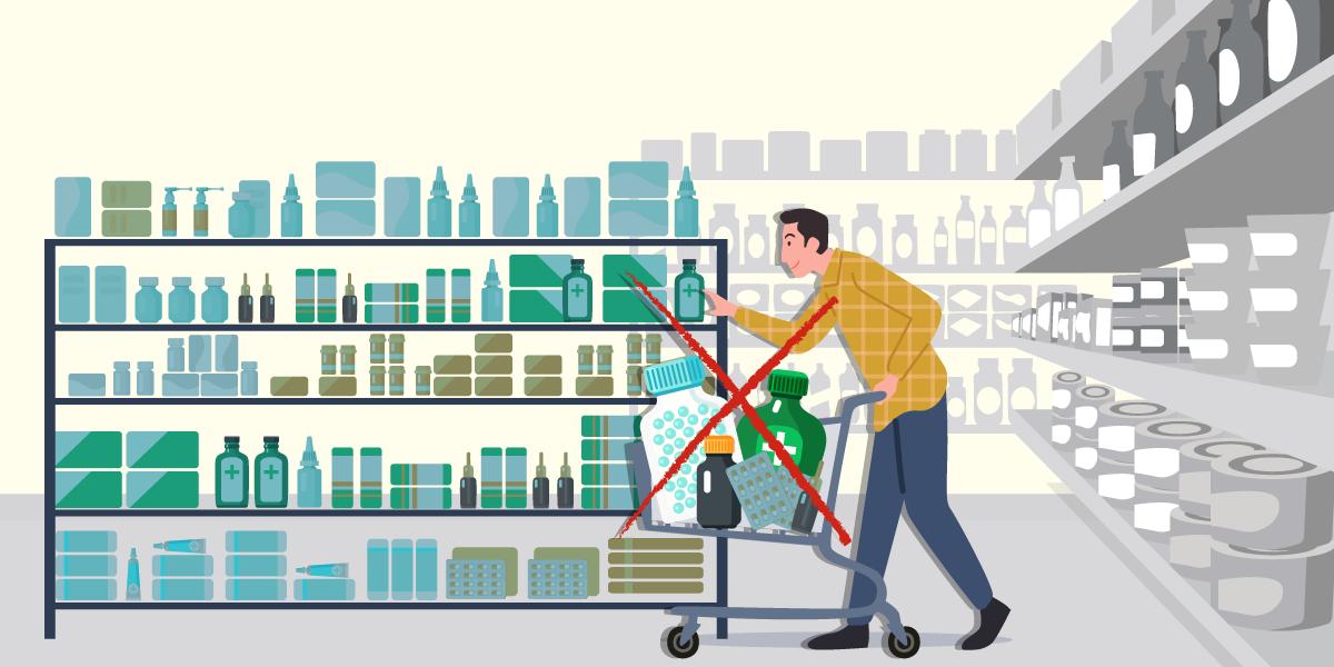 Projeto de lei que libera venda de MIPs em supermercado é arquivado